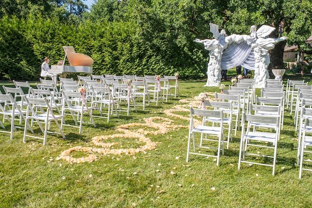 新婚夫婦のための装飾
