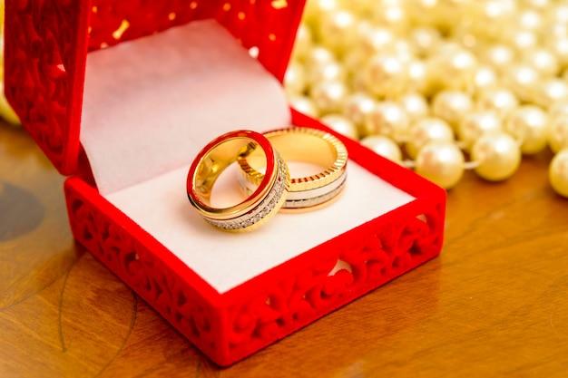 ボックスの結婚指輪
