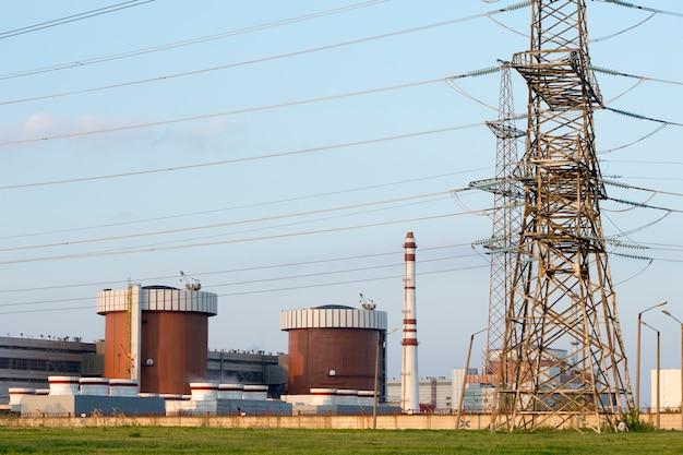 南ウクライナの原子力発電所