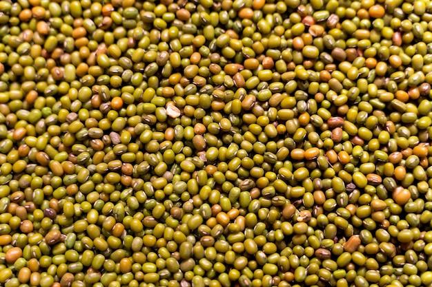 緑豆の背景