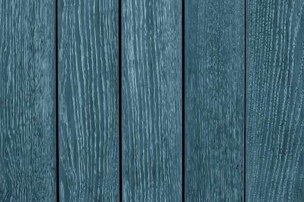 オーク、木製の背景のグレーとブルーの木製の板。