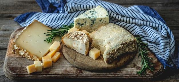 おいしいチーズのセット