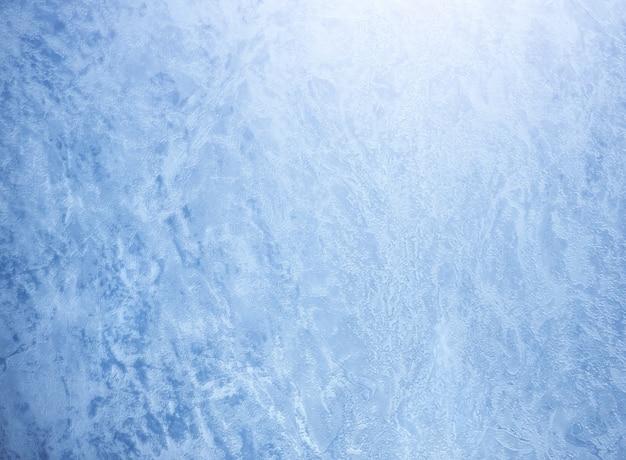 Зимний фон и морозная текстура.
