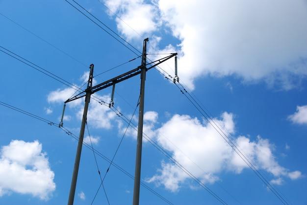 電気伝達のライン