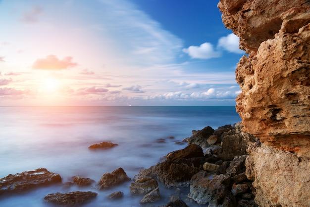 Закат морской пейзаж