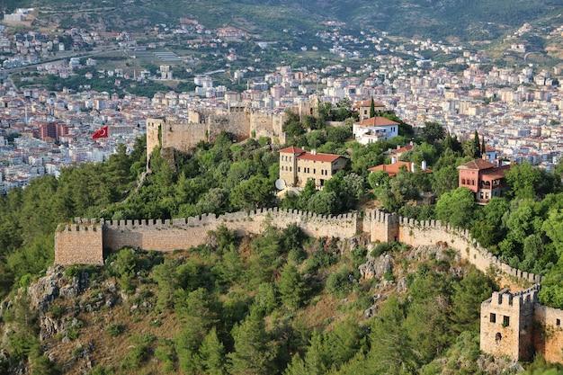 アラニアの古代の城