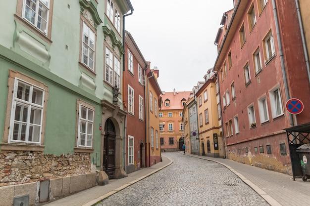 ヘプの旧市街の通り