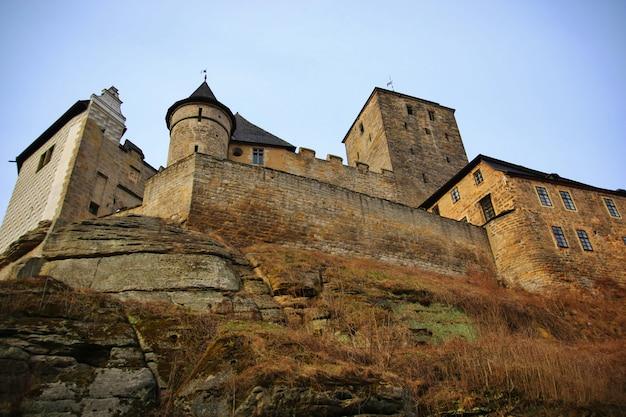 Старый чешский замок кость