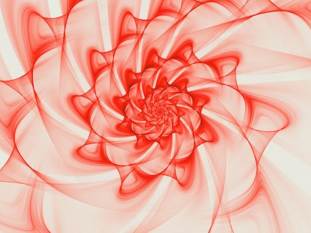 Абстрактный фрактал. фрактальная искусства фон для креативный дизайн.