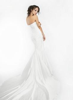 幸せな美しい花嫁
