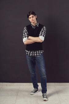 ハンサムな若い男の肖像