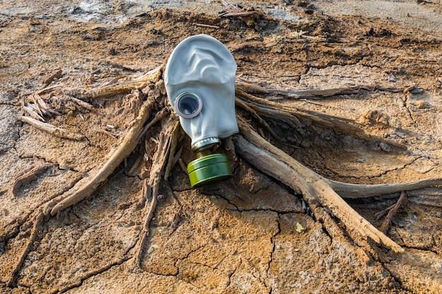 Концепция загрязнения с противогазом