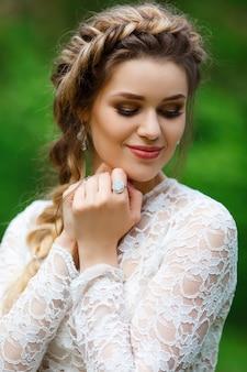 美しい花嫁の肖像画