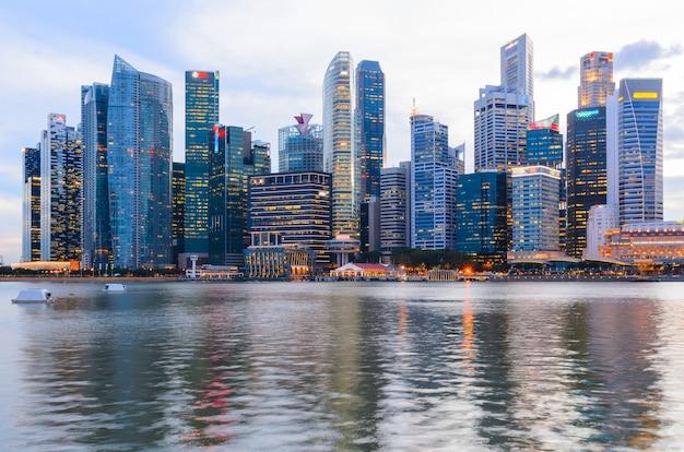 Сингапур центр города