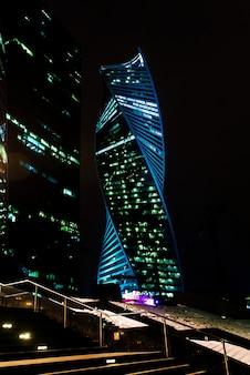 Москва город ночью