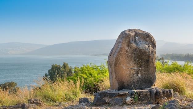 山上の垂訓の山とティベリアの湖