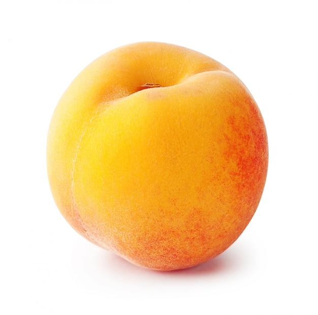 Спелый сочный персик