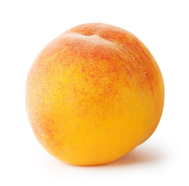 Круглый спелый абрикос