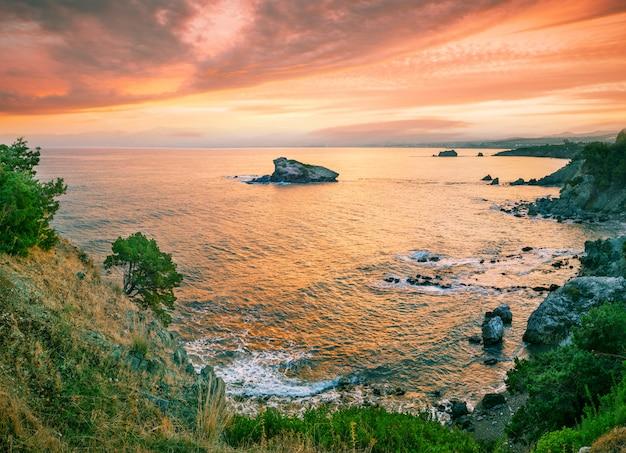 アカマス半島のアフロディーテの石の湾