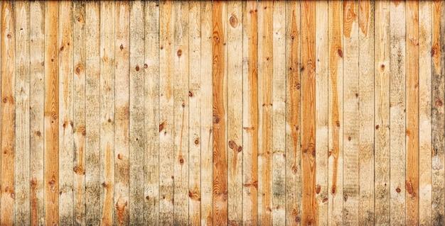 Текстура желтых деревянных досок для фона