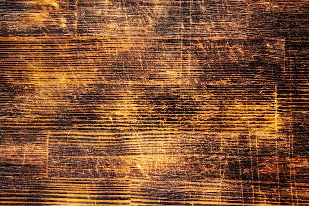 Текстура оранжевого фона деревянных досок