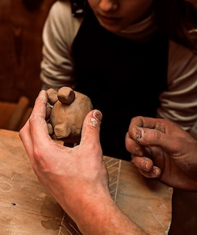 Мастер-класс по лепке из глины