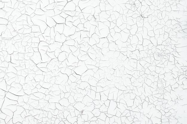 Серый цвет сухой потрескавшейся мутной земли в качестве фоновой текстуры