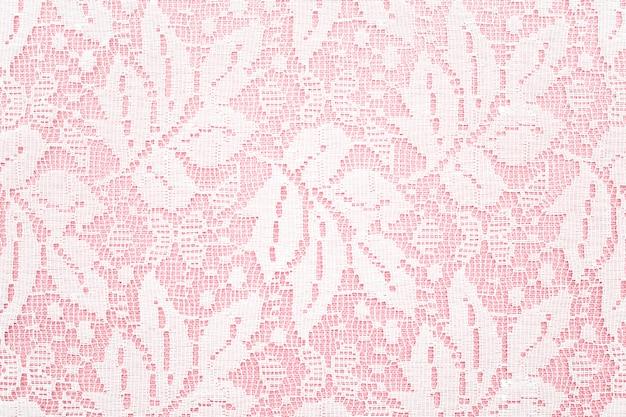 Цветочная обивка розовой поверхности