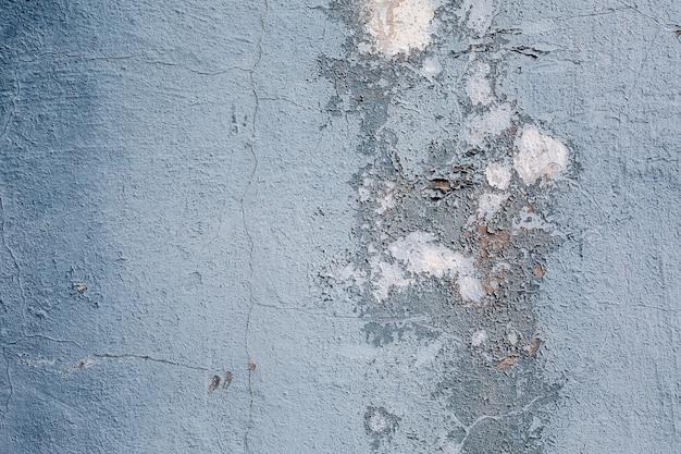灰色の塗料でコンクリートの石の壁のテクスチャグランジ背景