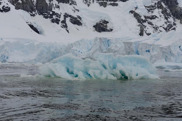 Ледник в антарктиде