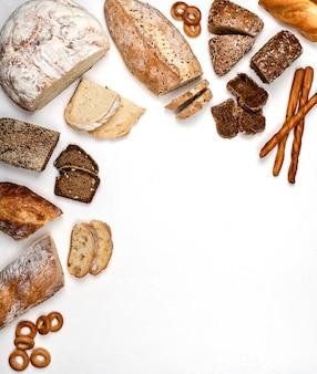 Различные виды хлеба