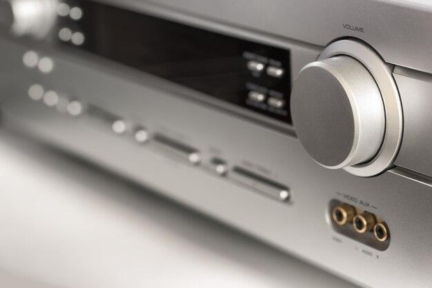 Аудио оборудование крупным планом