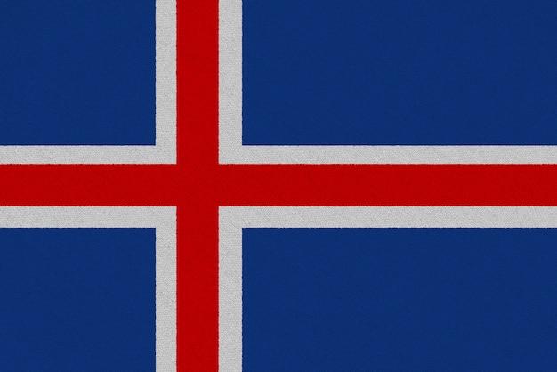 アイスランド生地旗