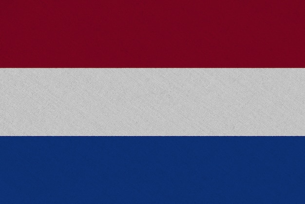 Флаг ткани нидерланды