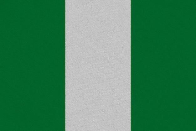 ナイジェリアファブリックフラグ