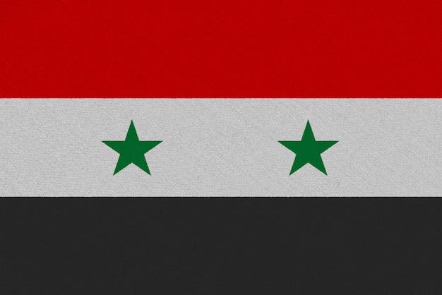 Сирия ткань флаг