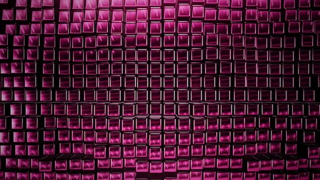 Из розовых квадратов