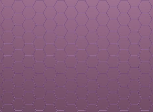 Металлические розовые шестиугольники, бесшовные модели.