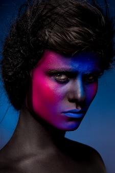 Искусство человека макияж