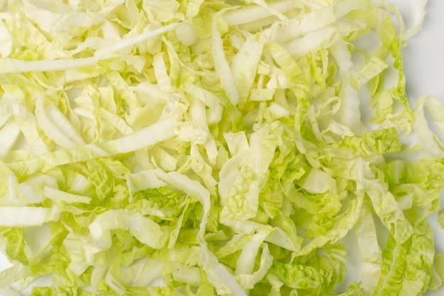 みじん切り白菜テクスチャ背景