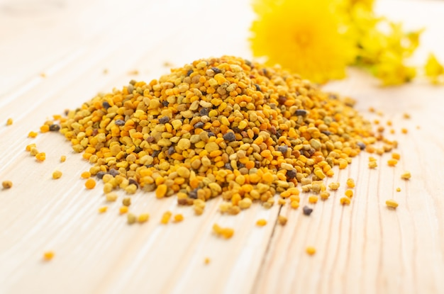蜂花粉ヒープ