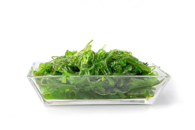 Салат из морских водорослей чукка