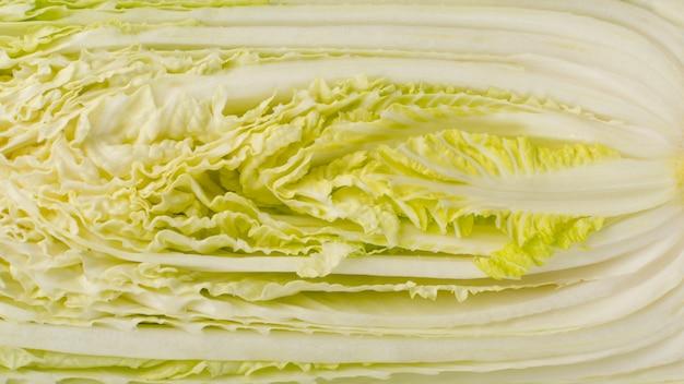 Половина китайской капусты, капусты напа или вомбок