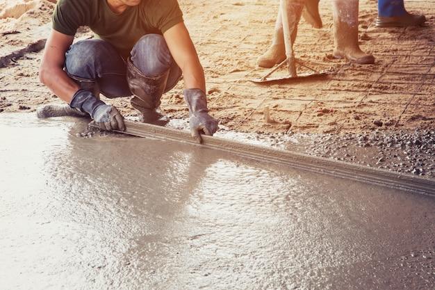 建物の床のためのプラスター・スクリード・コンクリート