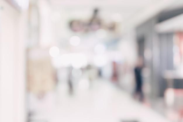 ぼやけた背景 - ショッピングモールの店はボケと背景をぼかします。