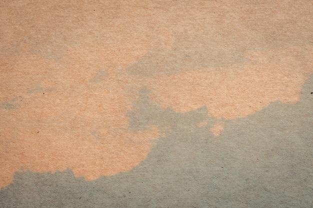 茶色の紙と青色の水色のテクスチャと背景のスペース。