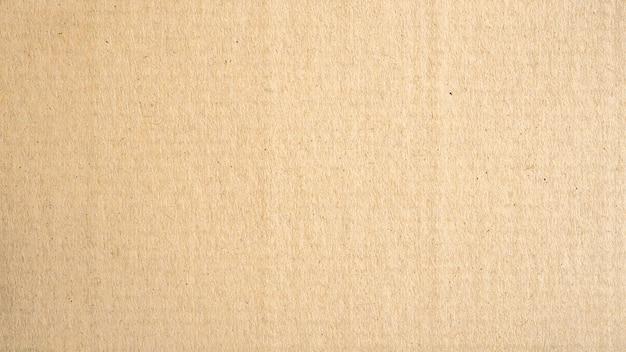 パノラマ茶色の紙の表面テクスチャと背景