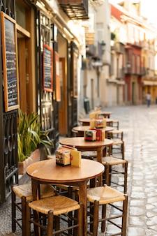 Одна из красивых улиц в малаге