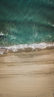 Пляж в малаге, андалусия область испании.