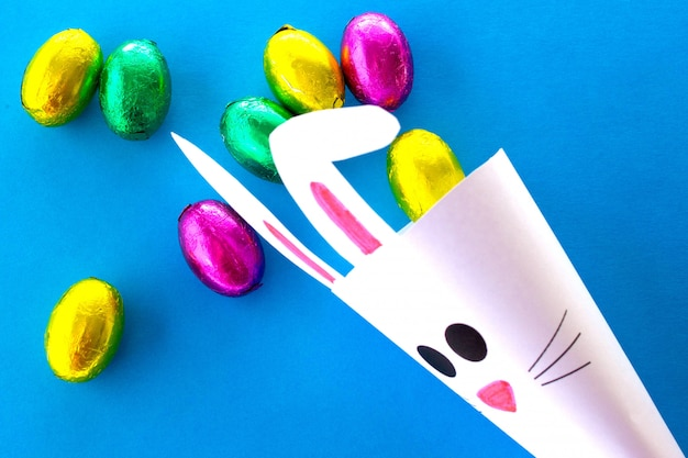 Смешное пасхальное изображение, сделай сам пасхальный кролик